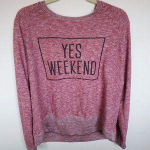 Relaxed Long Sleeved T-Shirt
